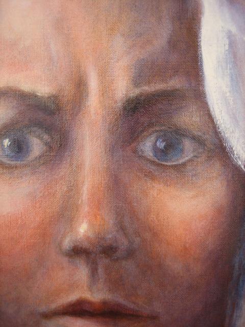 6B selfportrait detail