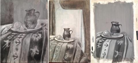 Vermeer-Underpaintings