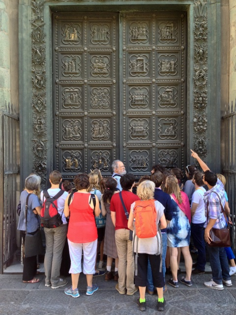 baptistry doors florence