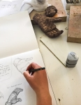 Drawing From the Clay Hand