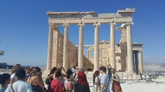 Touring the Acropolis of Athens