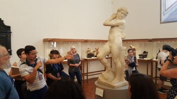 Touring the Bargello Museum in Florence