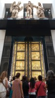 "Viewing the Ghiberti's ""Doors of Paradise"" at the Museo dell'Opera del Duomo"