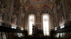 The Piccolimini Library in the Cathedral of Siena