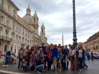 In the Piazza Navona, Rome