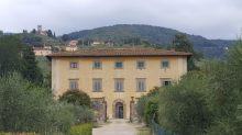 The Villa Rospigiliosi in Pistoia, home of the Aegean Center, Italy program